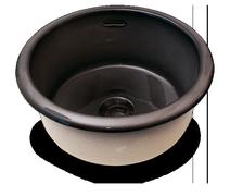 Carrelage - Décoration - Cuve Ronde diamètre 45 cm- Cuisine - Salle de Bains - Faïence de Provence à Salernes